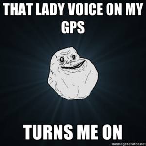 GPS lady